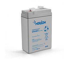 Аккумулятор   6 V  4,5 Ah AGM GP645F1( 70х47х 99 (107) ) Q40 MERLION