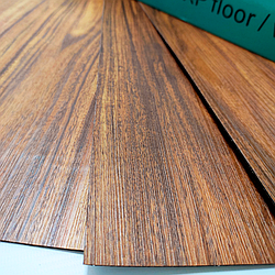 Покриття на підлогу для стін гнучкий ламінат на клейовій основі вінілова плитка лінолеум Темне дерево