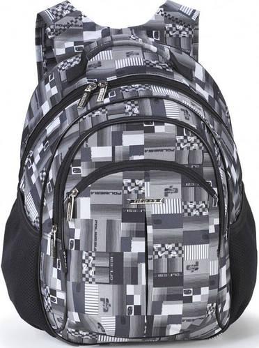 Школьный рюкзак для мальчика Dolly (Долли) 576gray серый