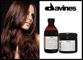 """DAVINES Alchemic Shampoo Chokolate - Шампунь с прямыми пигментами для усиления цвета """"Шоколад"""""""