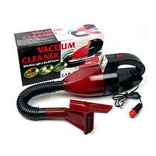 Автомобільний пилосос Vacuum Cleaner від прикурювача (av021-hbr)