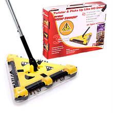 Электровеник Twister Sweeper беспроводной Yellow Black (do071-hbr)