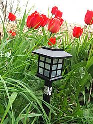 Светильник газонный (садово-парковый) на солнечной батарее Lemanso СAB121