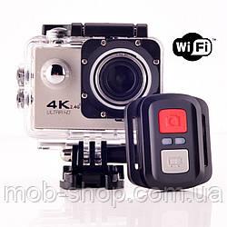 Action Camera Екшн камера F60R WiFi 4K + пульт (камера для зйомки для відпочинку) великий набір кріплень
