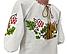 Рубашка Вышиванка для девочки домотканый хлопок р. 92 - 140, фото 2