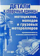 ДЕТАЛИ И СБОРОЧНЫЕ ЕДИНИЦЫ мотоциклов мопедов и грузовых мотороллеров • применяемость • взаимозависимость