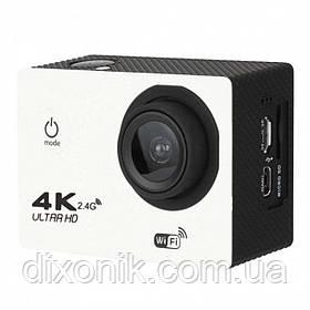 Спортивная Action Camera Экшн камера F60R WiFi 4K большой комплект креплений + пульт