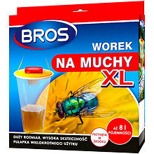 Ловушка-мешок для мух с приманкой XL, Bros
