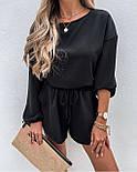 Костюм женский летний с шортами и кофтой, фото 3