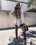 Костюм женский летний с шортами и кофтой, фото 7