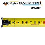 Рулетка обрезиненная 5м×25мм SIGMA (3814731), фото 3