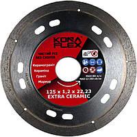 Алмазный диск по плитке и керамограниту Kona Flex 125 х 1,2 х 8 х 22,2 Extra Ceramic