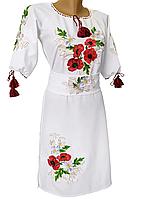 Подростковое Платье вышиванка для девочки р.146 - 164