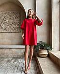 Летнее платье женское джинс бенгалин, фото 4