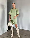 Летнее платье женское джинс бенгалин, фото 2