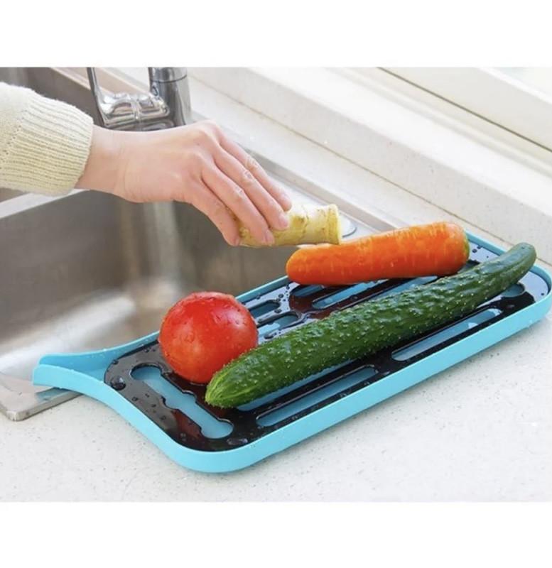 Подставка сушилка для посуды со сливным носиком