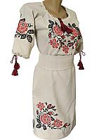 Вышиванка Платье женское Лен р.42 - 60