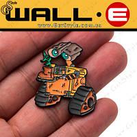 Значки Wall-e і Eve 2 шт розмір 3 см