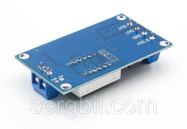 Модуль - реле часу 6-999с програмований, харчування 5-36VDC