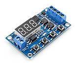 Модуль - реле часу 6-999с програмований, харчування 5-36VDC, фото 2