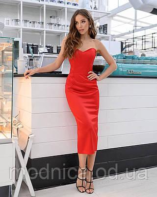 Ошатне жіноче корсетна сукня максі, розміри XS, S, M, L