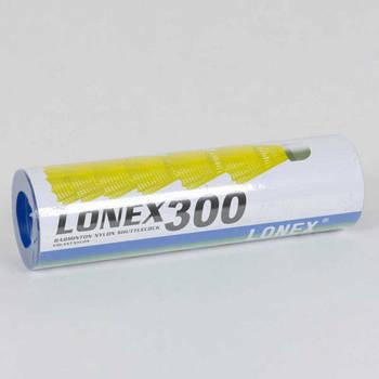 Воланчик неоновый для бадминтона LONEX 6 шт (С 40222)