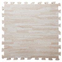 Lb Мат татами пазл ЭВА модульное покрытие на пол EVA ласточкин хвост складной коврик 60х60х1 см светлое