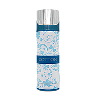 Парфюмированный дезодорант Cotton W 200 ml