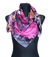 Легкий платок Eripek Надия 95*95 см фиолетовый