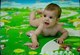 Теплые развивающие коврики Babypol(Бебипол) с рождения