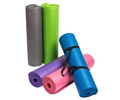 Коврик для йоги и фитнеса NBR (йога мат, каремат спортивный) OSPORT Mat Pro 1.5см (FI-0135)