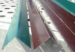 Угловая планка 40 Х 40 мм, цветная, комплектующие для профнастила,, фото 2