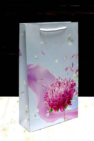 Бумажный подарочный пакет Упаковкин 40*24*9см 12шт/уп №ПАК БВ-121КРТ, фото 2