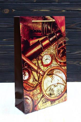 Бумажный подарочный пакет Упаковкин 40*24*9см 12шт/уп №ПАК БВ-115КРТ, фото 2