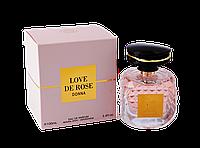 Парфюмированная вода для женщин Love de Rose Donna W 100 ml