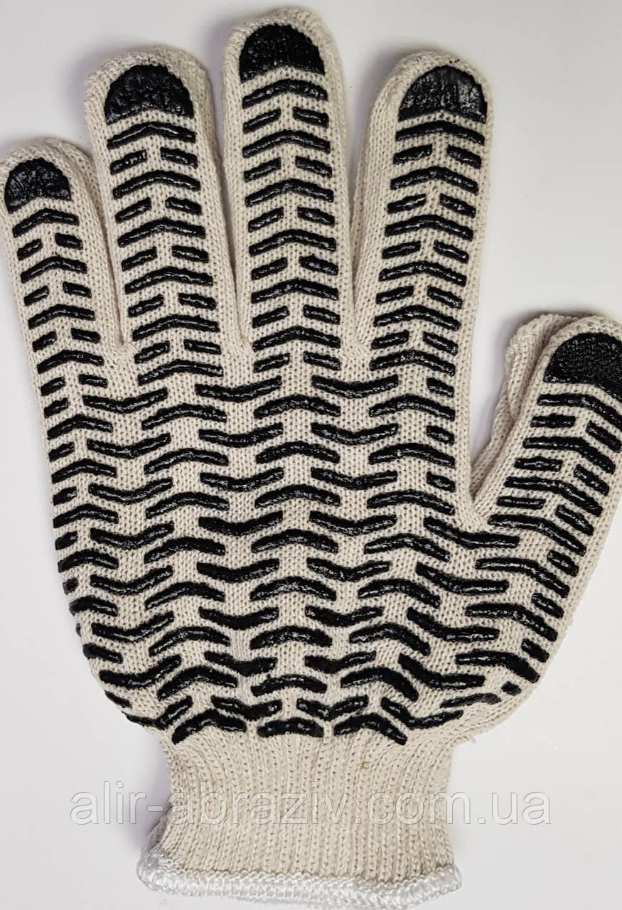 """Перчатки защитные с ПВХ точкой """"волна"""""""