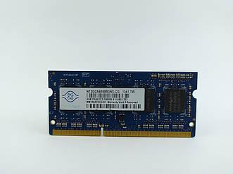 Оперативная память для ноутбука SODIMM Nanya DDR3 2Gb 1333MHz PC3-10600S (NT2GC64B88B0NS-CG) Б/У