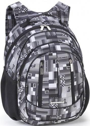 Практичный школьный рюкзак для мальчика Dolly (Долли) 574 серый