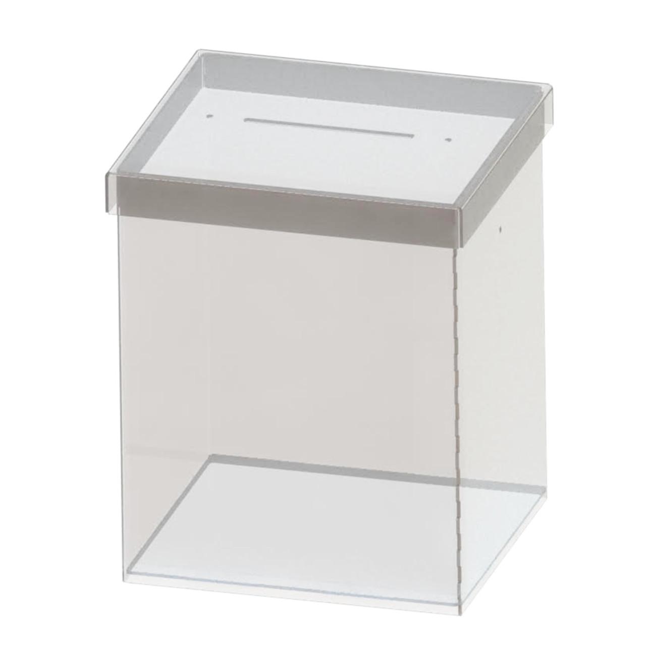 Ящик для пожертвований EKOSTAR под пломбу. Объем 9,5 литров