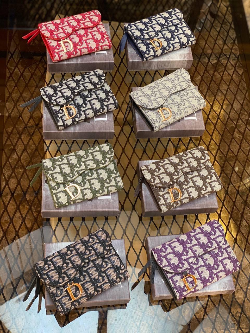 Женские кошельки Christian Dior (люкс копия)
