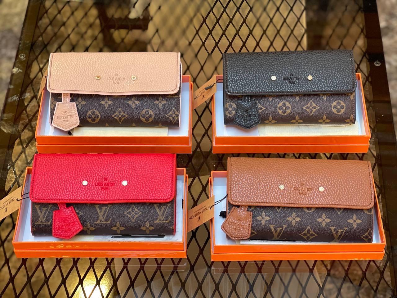 Женские кошельки Louis Vuitton (люкс копия)