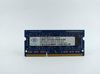 Оперативная память для ноутбука SODIMM Nanya DDR3 2Gb 1333MHz PC3-10600S (NT2GC64B88G0NS-CG) Б/У