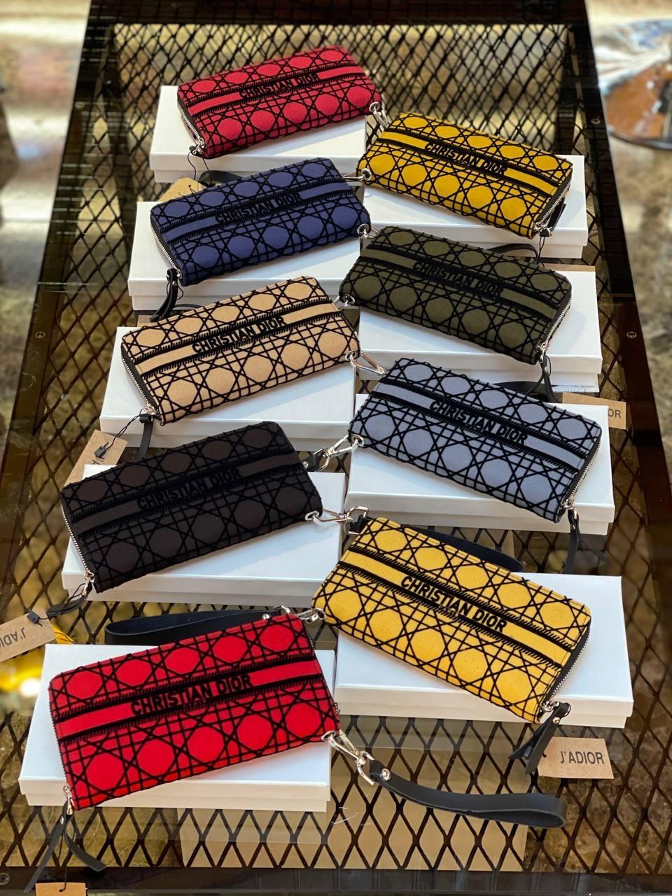 Жіночі гаманці Christian Dior (люкс копія)