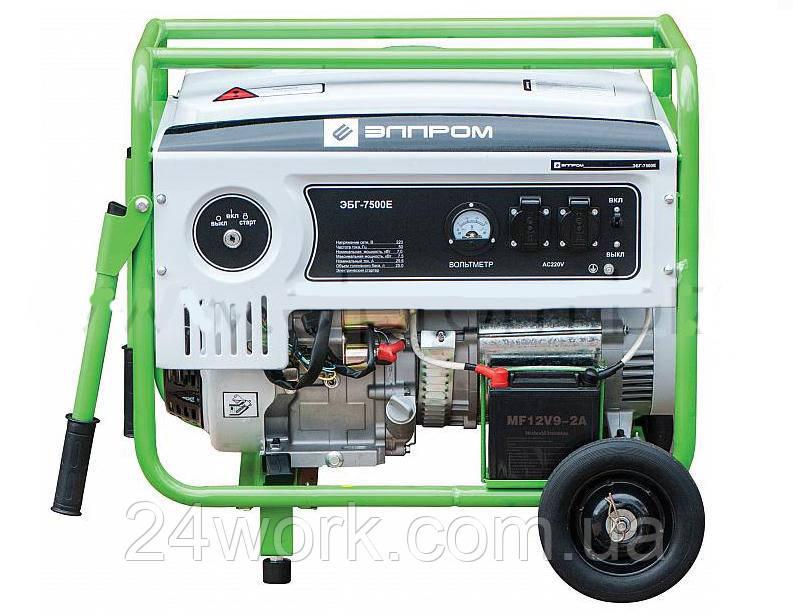 Бензогенератор Элпром ЭБГ-7500 Е (7,5 кВт)