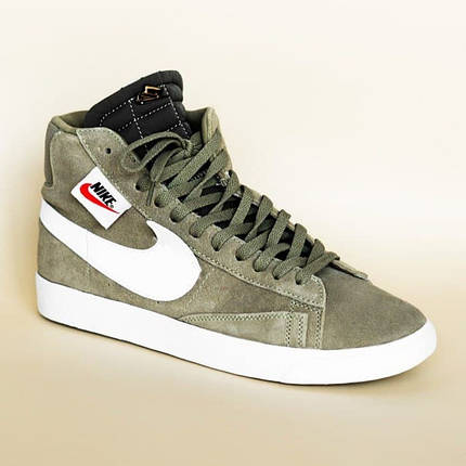 Nike Blazzer Olive, фото 2