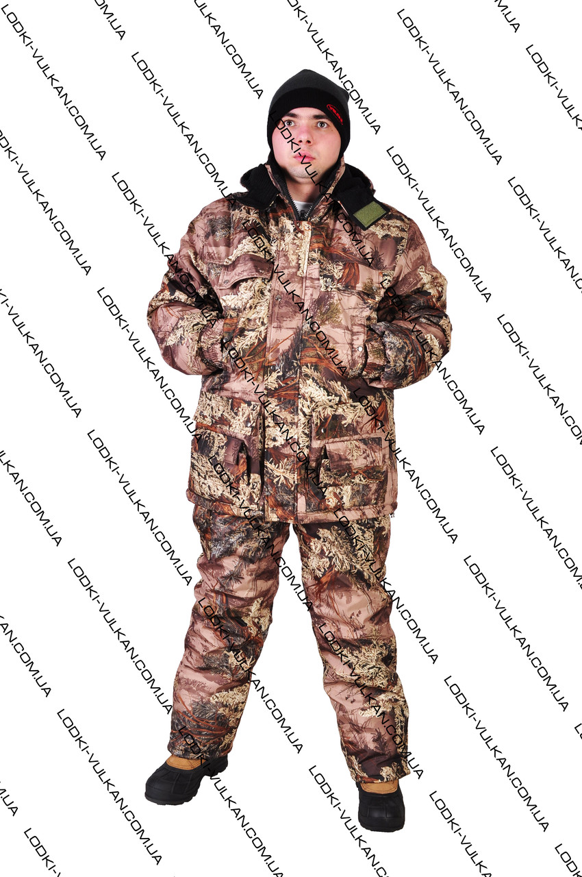 Костюм зимний для охоты и рыбалки Пихта  -25С - «Вулкан» товары для рыбалки, охоты, туризма и дайвинга, камуфлированные костюмы, обувь и одежда в Харькове