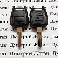 Корпус ключа для Opel Astra (Опель Астра),2 кнопки с лезвием YM28