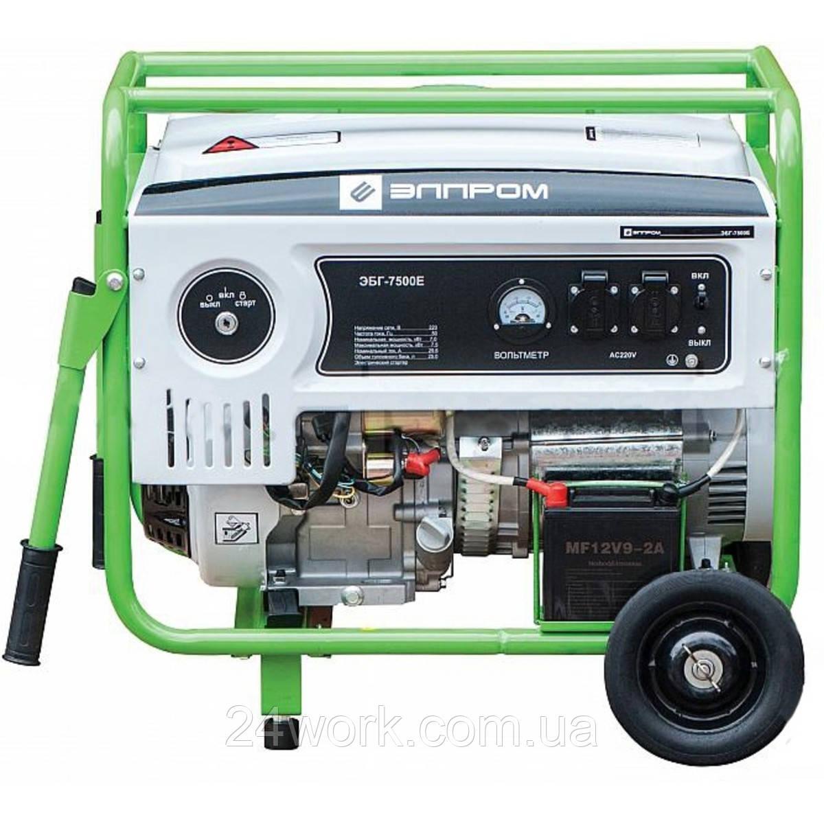 Бензиновый генератор Элпром ЭБГ-12500 Е (10 кВт)