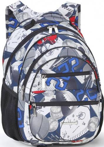 Превосходный школьный рюкзак для мальчика Dolly (Долли) 572 синий