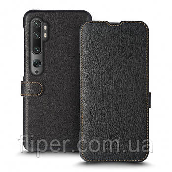 Чехол книжка Stenk Premium для Xiaomi Mi Note 10 Pro Чёрный